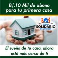 En dos distritos de Chiriquí Miviot desembolsará cerca de 3 millones de balboas en Bono Solidario Aproximadamente 3 millones de balboas desembolsará el Ministerio de Vivienda y Ordenamiento Territorial (Miviot) […]