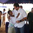 En Cañazas de Veraguas Entregan asignaciones definitivas de lotes para beneficiar a 50 familias de Barriada San José Cincuenta familias veragüenses de la Barriada San José, en el distrito de […]