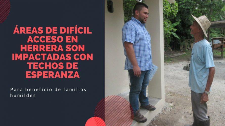 Para beneficio de familias humildes Áreas de difícil acceso en Herrera son impactadas con Techos de Esperanza Un total de 500 familias de los distritos de Parita, Ocú y Los […]