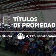 Beneficia a más de 4,775 bocatoreños  Presidente Varela encabeza titulación masiva de tierra en Bocas del Toro  El presidente Juan Carlos Varela encabezó el acto de entrega de […]