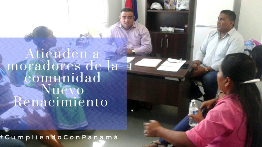 Autoridades de Panamá Este Atienden a moradores de la comunidad Nuevo Renacimiento A fin de aclarar algunas inquietudes e informar sobre los avances en los trámites para la legalización de […]
