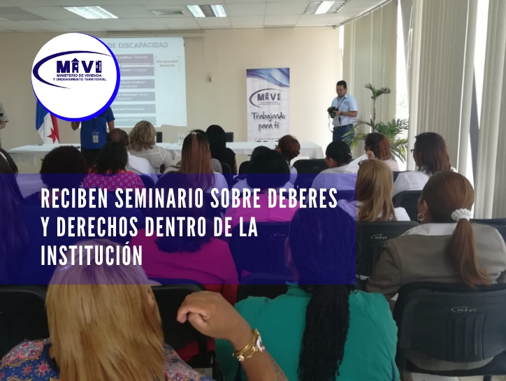 Reciben seminario sobre deberes y derechos dentro de la institución